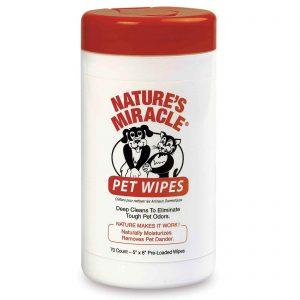 Влажные очищающие салфетки для собак и кошек