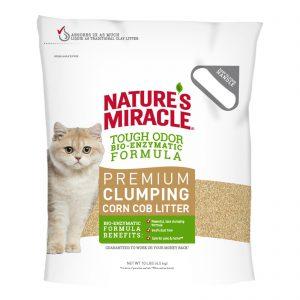 Кукурузный наполнитель для кошачьего туалета