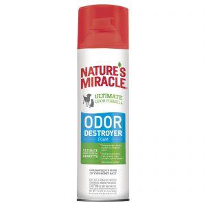 Уничтожитель запахов для собак и кошек, аэрозоль-пена